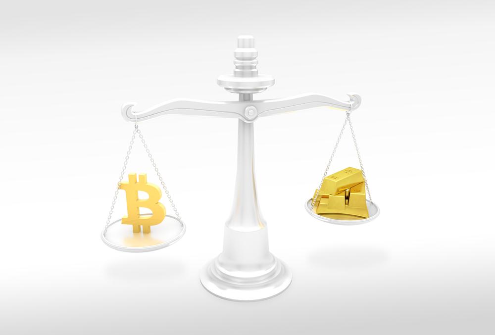 ouro bitcoin