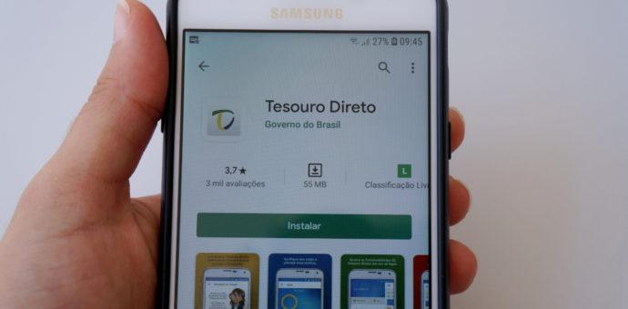 aplicativo do tesouro direto onde é possível comprar títulos ligados à inflação